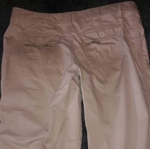 No Boundaries Pants & Jumpsuits - No Boundaries tan capris size 13 juniors.